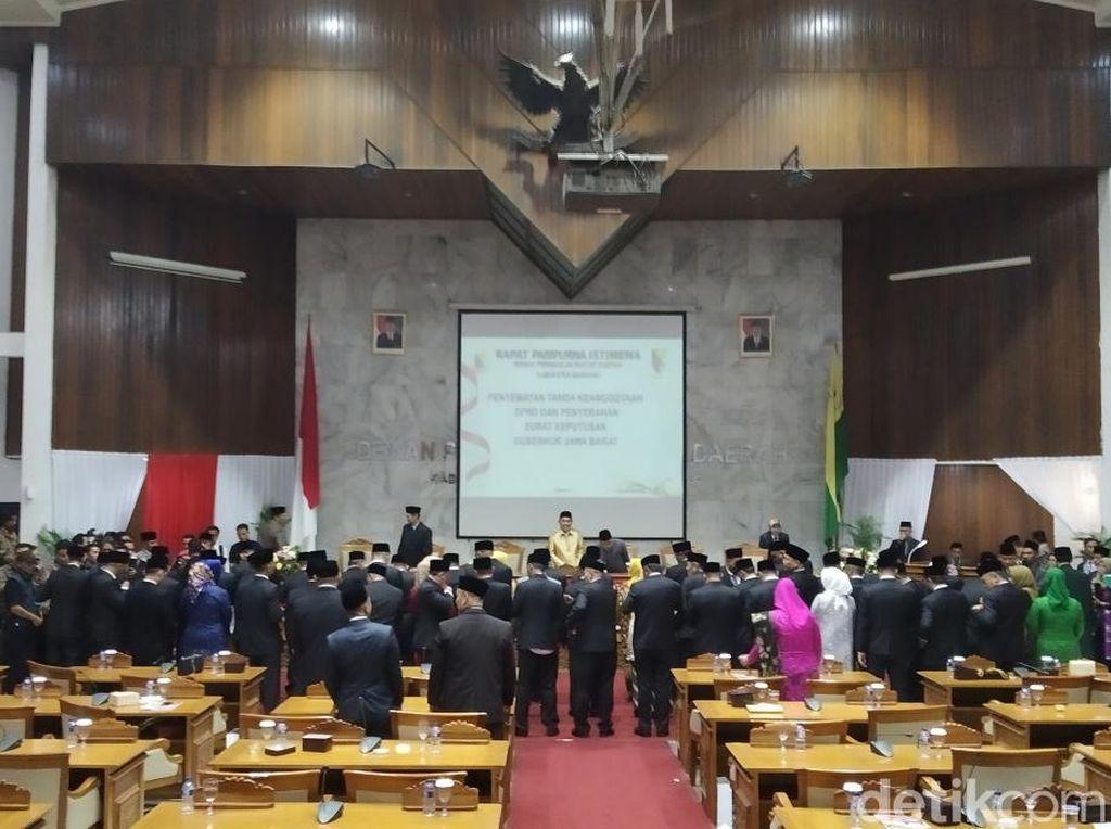 Bambang Pamungkas Jadi Anggota DPRD Kabupaten Bandung Termuda