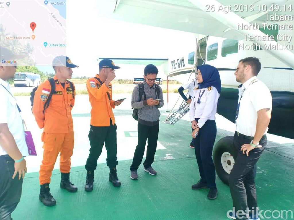 Basarnas Lakukan Pantauan Udara Cari Kapal Nikel Hilang di Laut Maluku