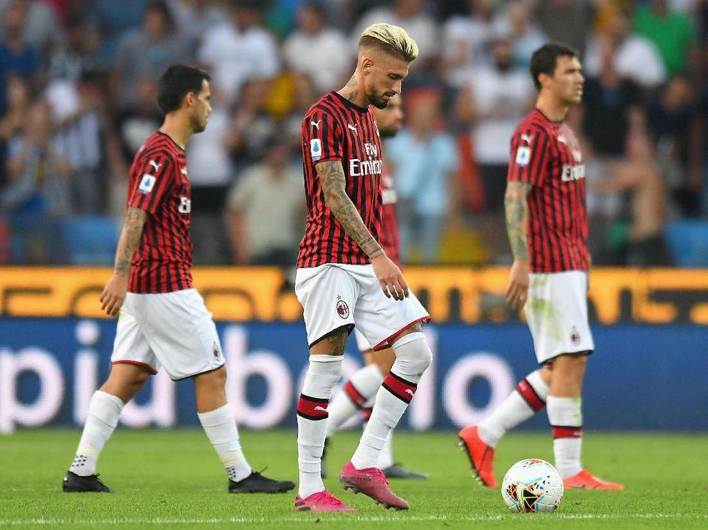 Ketidaksabaran Menyeret Milan ke Jurang Keterpurukan