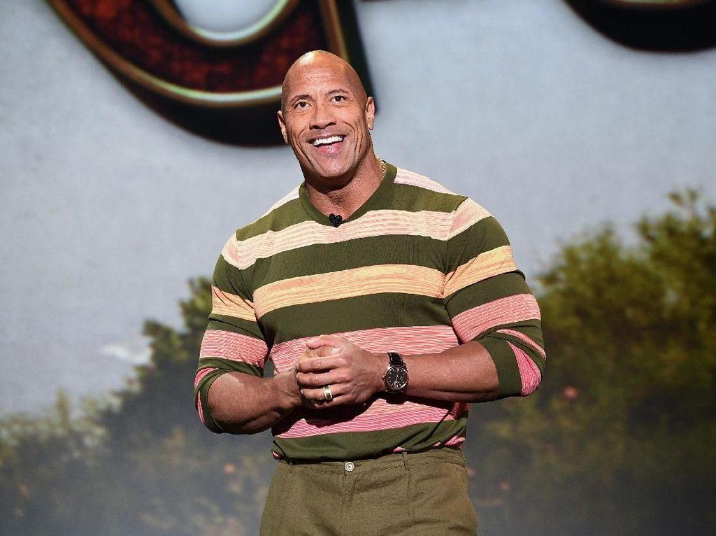 Reaksi Dwayne Johnson The Rock Didukung Jadi Presiden AS