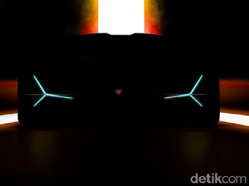 Mobil Sport Baru Lamborghini Mulai Menggoda