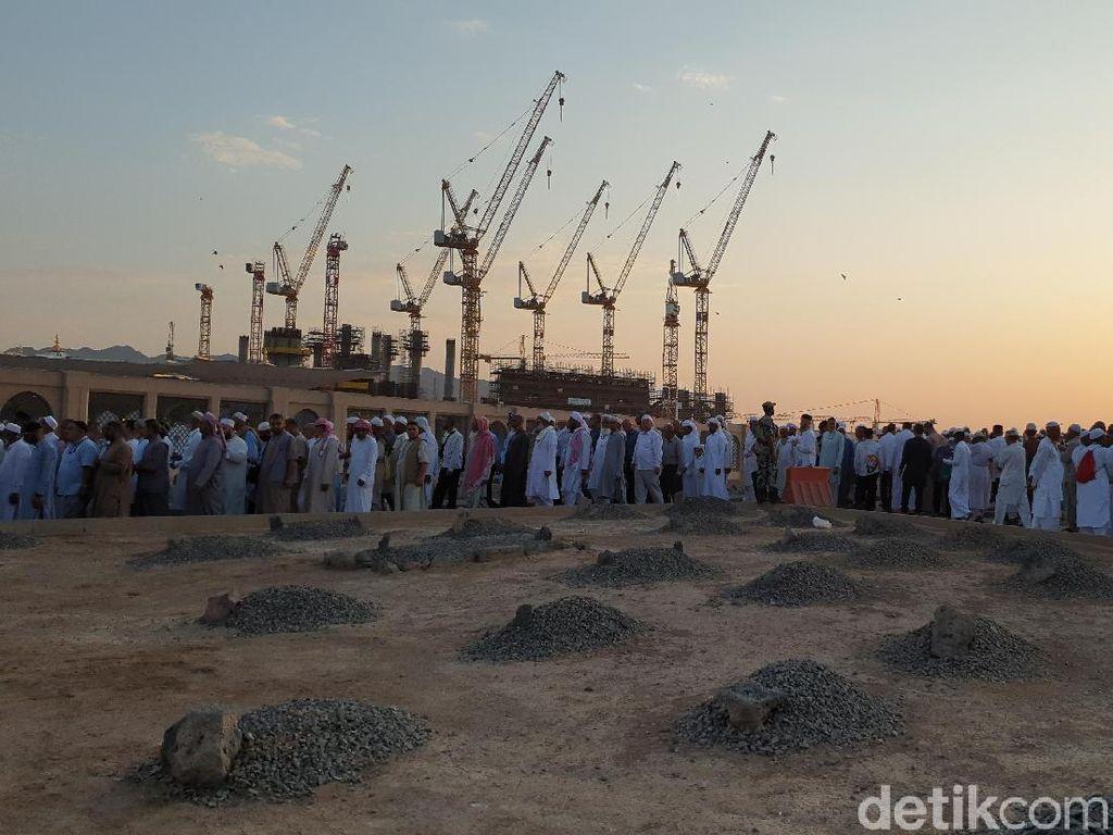 Ini Lokasi Pemakaman Jemaah Haji RI yang Wafat di Tanah Suci