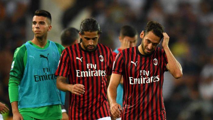 AC  Milan kalah dari Udinese di pekan pertama (Alessandro Sabattini/Getty Images)