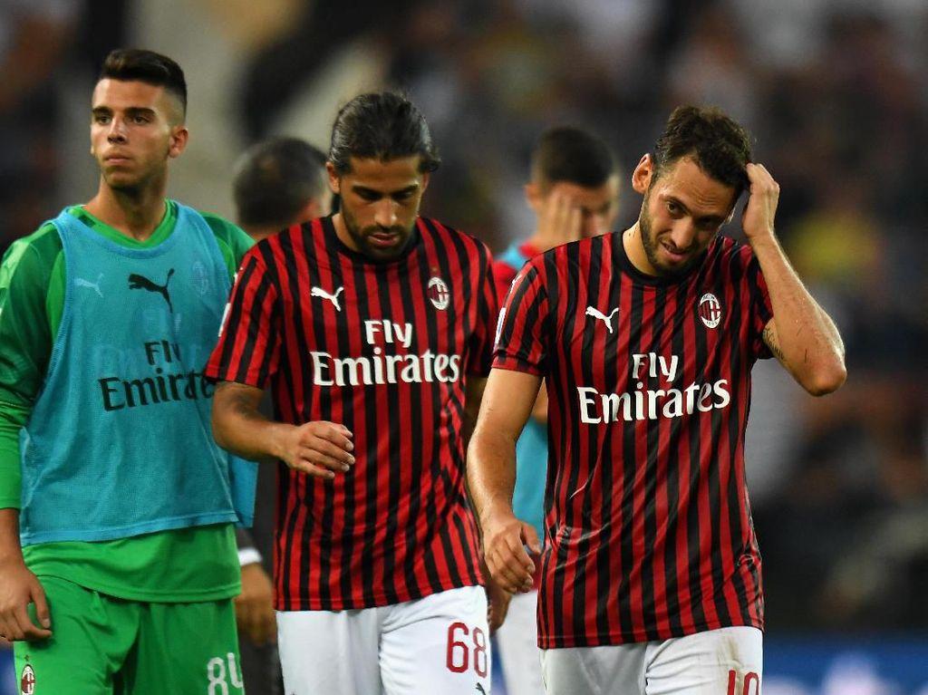 Milan Kalah Bukan karena VAR, tapi Memang Main Buruk