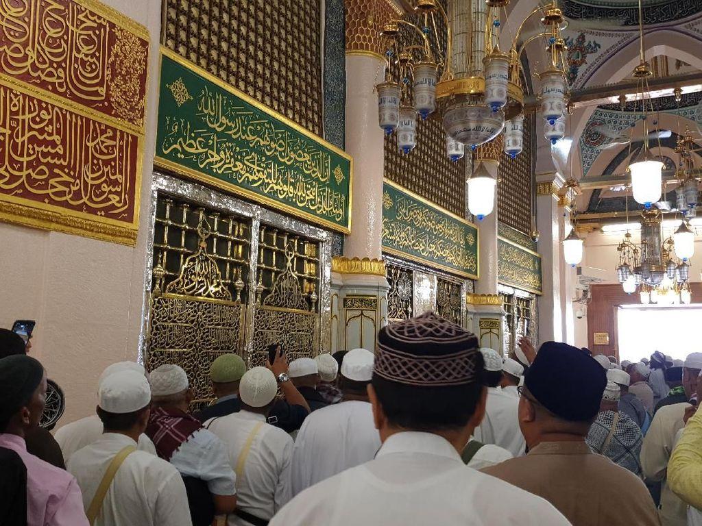 Kumpulan Doa dan Tips Umroh: Doa Saat Masuk Masjid Nabawi