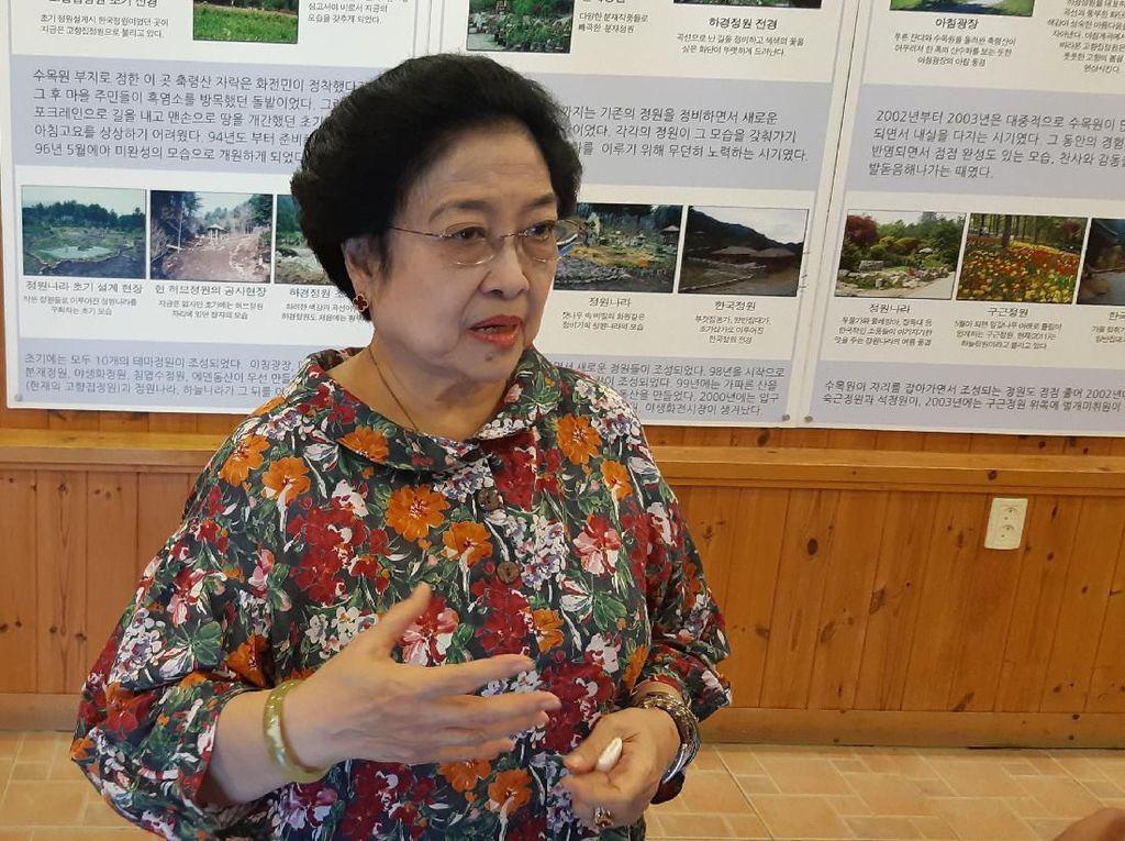 Megawati soal Polusi Jakarta: Katanya Udah Paling Tinggi, Kan Malu Ya