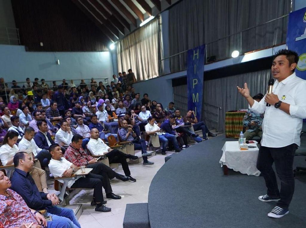 Isi Kuliah Umum di UI, Mardani Isyaratkan Siap Pimpin HIPMI