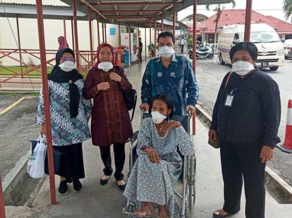 Dijemput Tim Edy Rahmayadi, TKI Telantar di Penang Segera Pulang ke Sumut