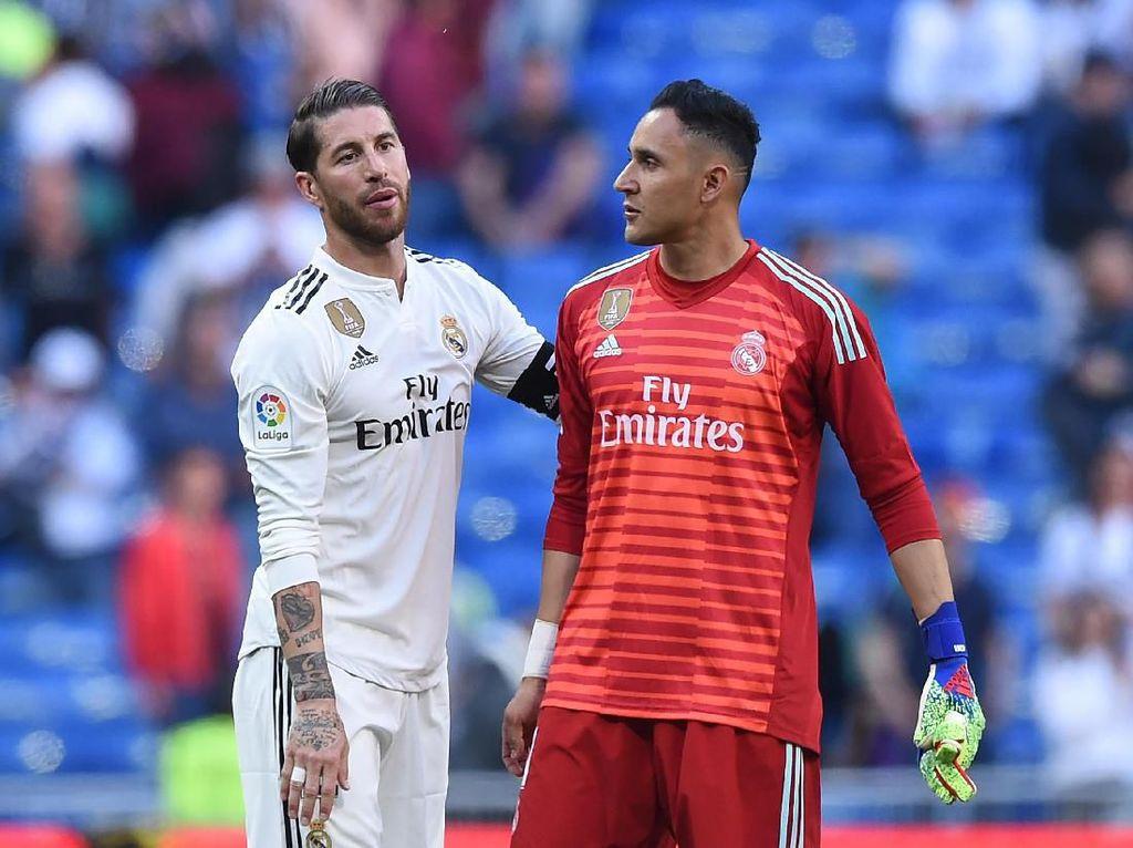 Tak Mau Navas Pergi, Ramos: Madrid Harus Punya 2 Kiper Hebat
