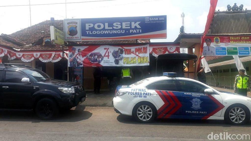 Begini Suasana di Polsek Tlogowungu Pati Usai Pembacokan Polisi