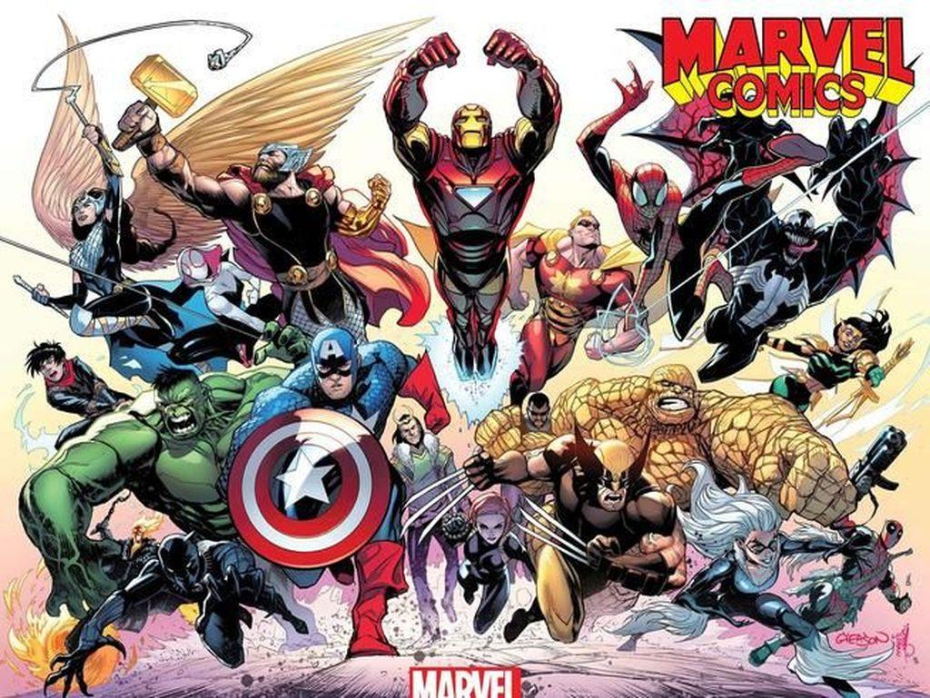 Edisi ke-1001 Marvel Comics Hadir Lebih Spesial