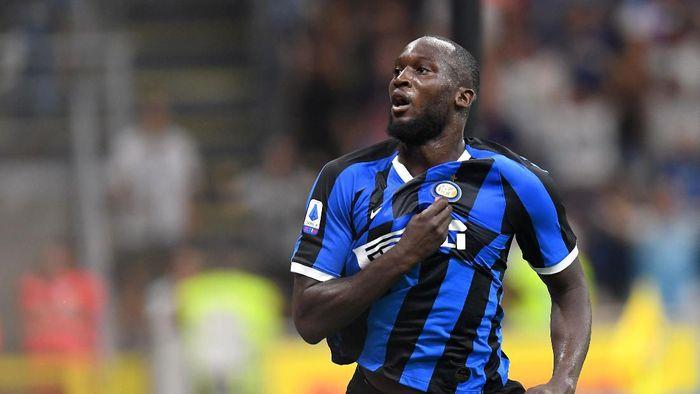 Romelu Lukaku jadi korban serangan rasial beberapa pekan lalu (REUTERS/Daniele Mascolo)