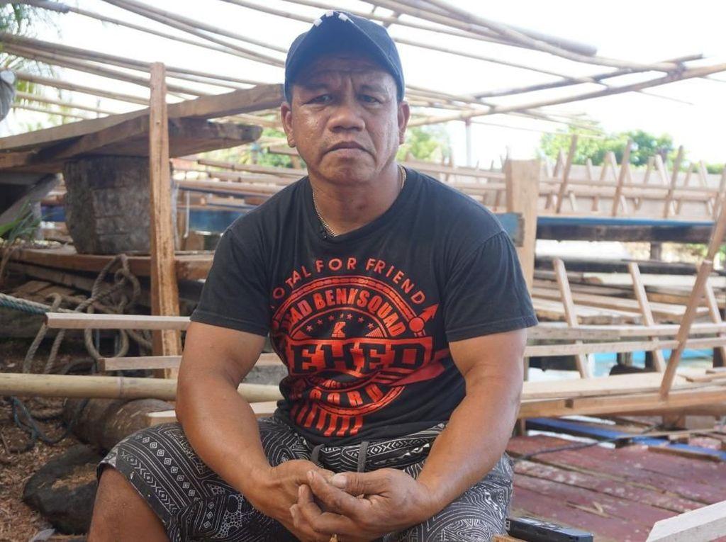 Saat Pembuat Perahu Siau, Andalkan Bahan Tahan Lama dari Filipina