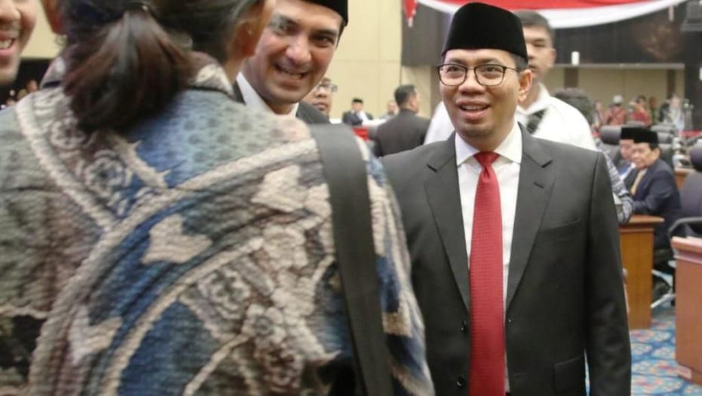 Pelantikan Anggota DPRD DKI Jakarta