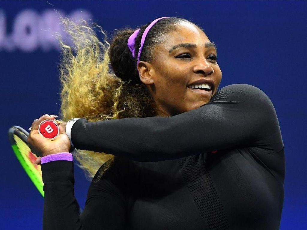 Serena Singkirkan Sharapova di Babak Pertama AS Terbuka