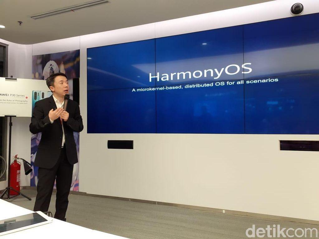 Huawei Takkan Pasang HarmonyOS di Ponselnya, Tapi...