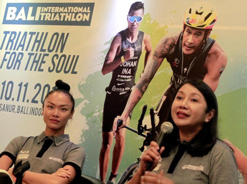 Intip Persiapan Bali International Triathlon