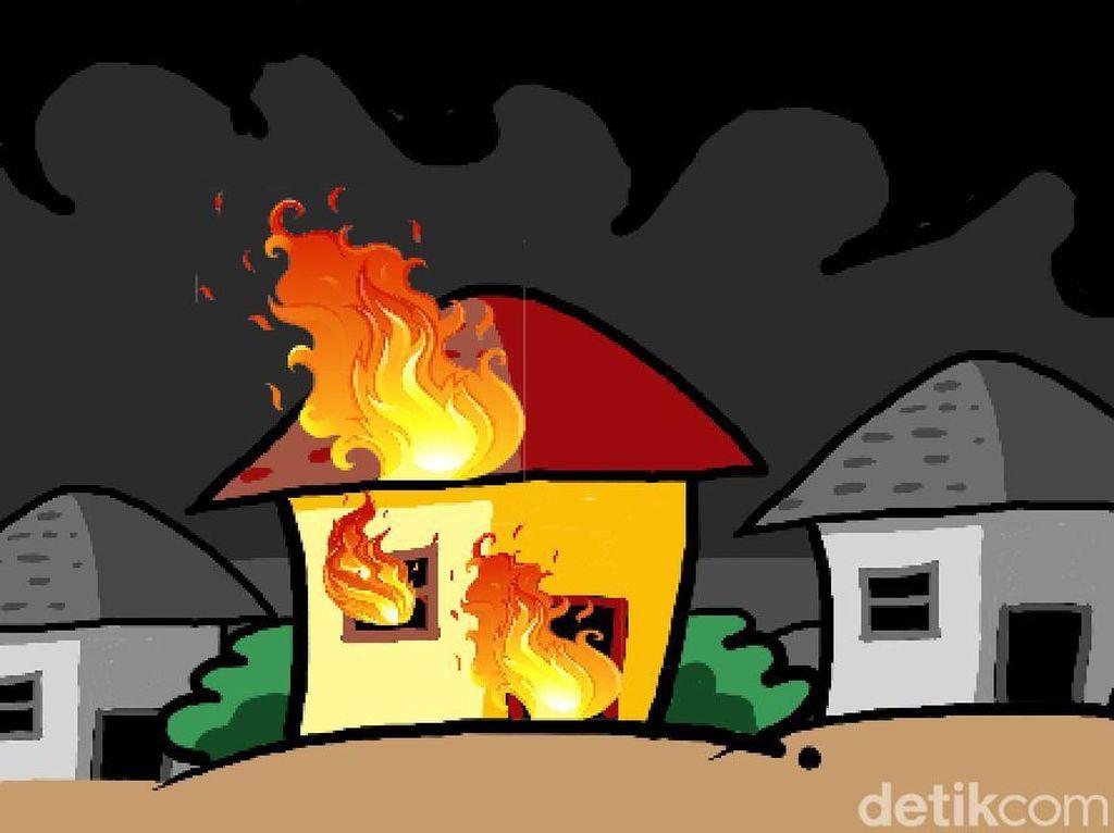 Kebakaran Terjadi di Petamburan, Masih Proses Pemadaman