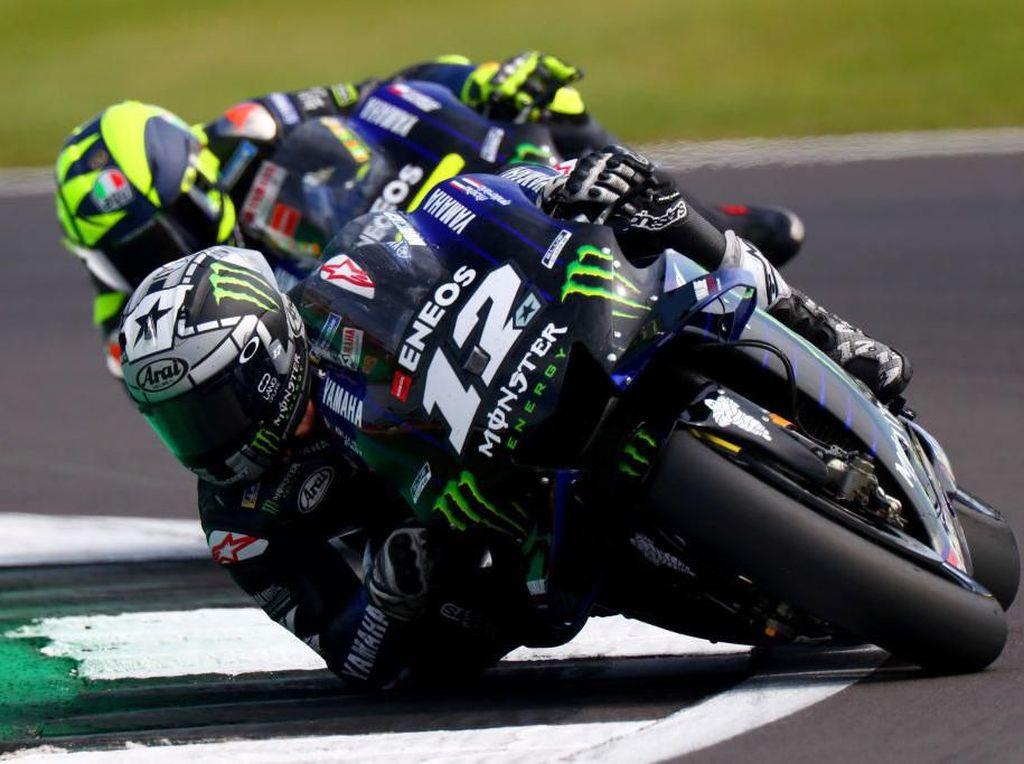 Vinales Hanya Bertarung dengan Diri Sendiri di MotoGP Inggris