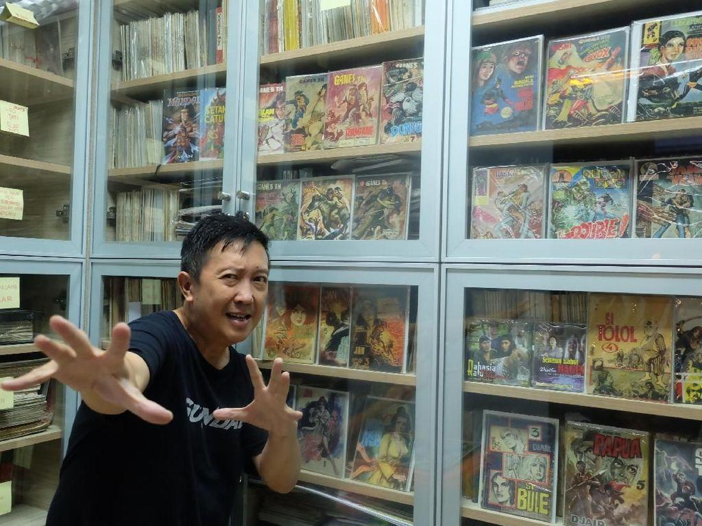 Kisah Kolektor Komik Lawas Andy Wijaya Mengoleksi Komik Tertua di Indonesia