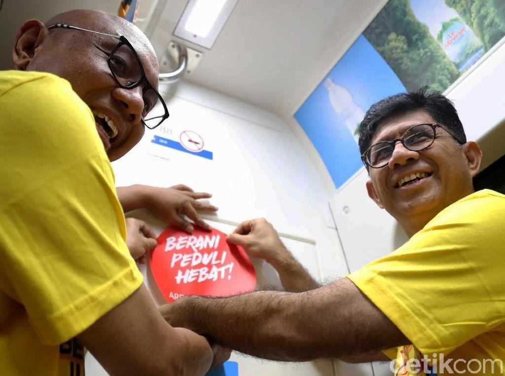 Cara KPK Kampanye Antikorupsi di MRT