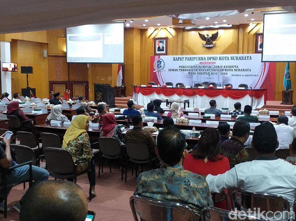 Penyusunan Alat Kelengkapan DPRD Surabaya Tunggu Ketua Definitif Terpilih