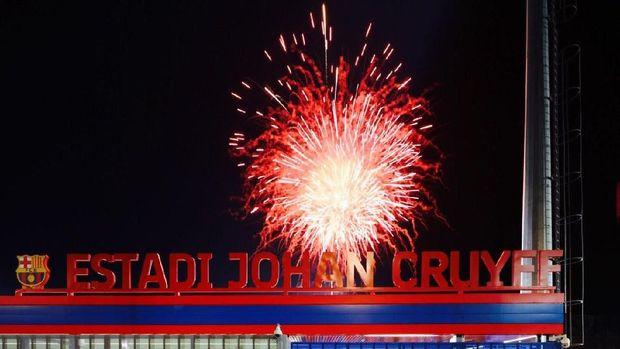 Johan Cruyff Stadium diresmikan Barcelona