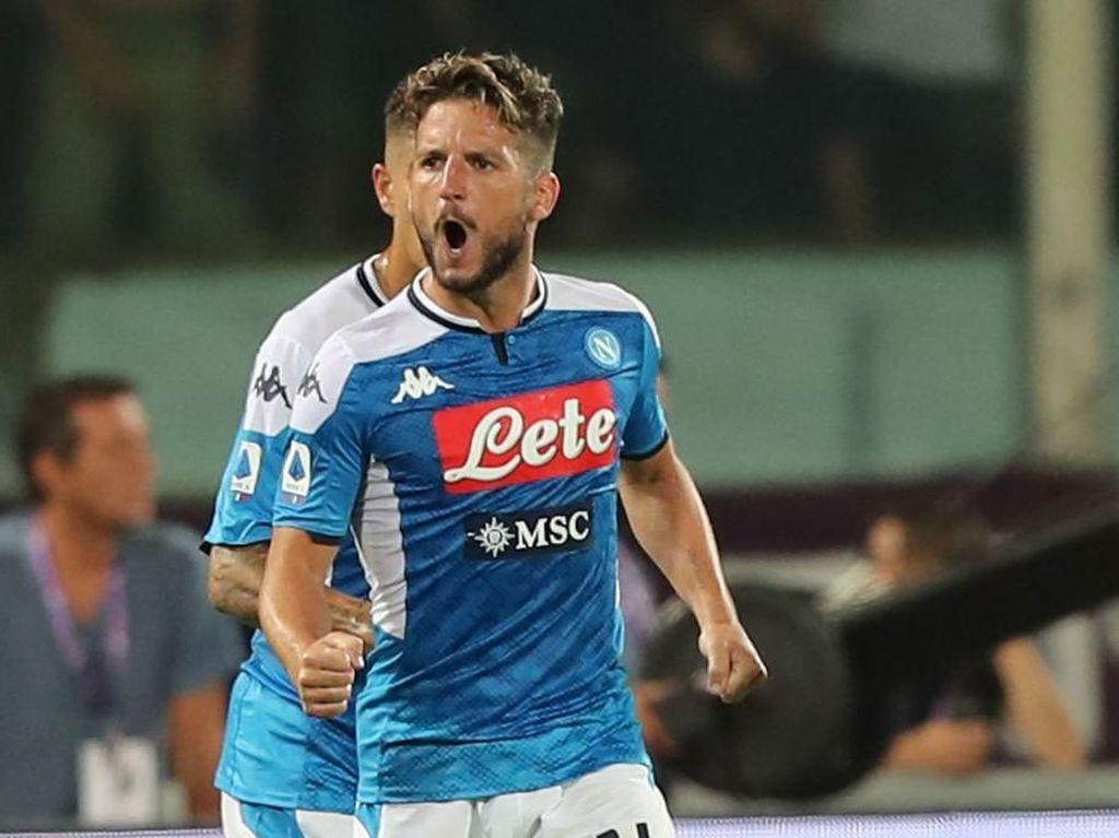 Moratti Ingin Lihat Mertens Duet dengan Lukaku di Inter