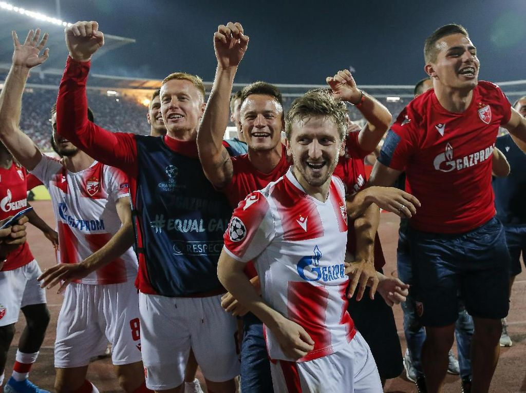 Olympiakos, Zagreb, dan Red Star Belgrade ke Fase Grup Liga Champions