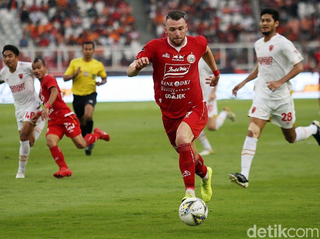 Persija vs PSM Berakhir Tanpa Gol