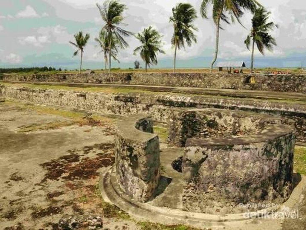 Masih Kokoh, Benteng Peninggalan Sultan Iskandar Muda Ini