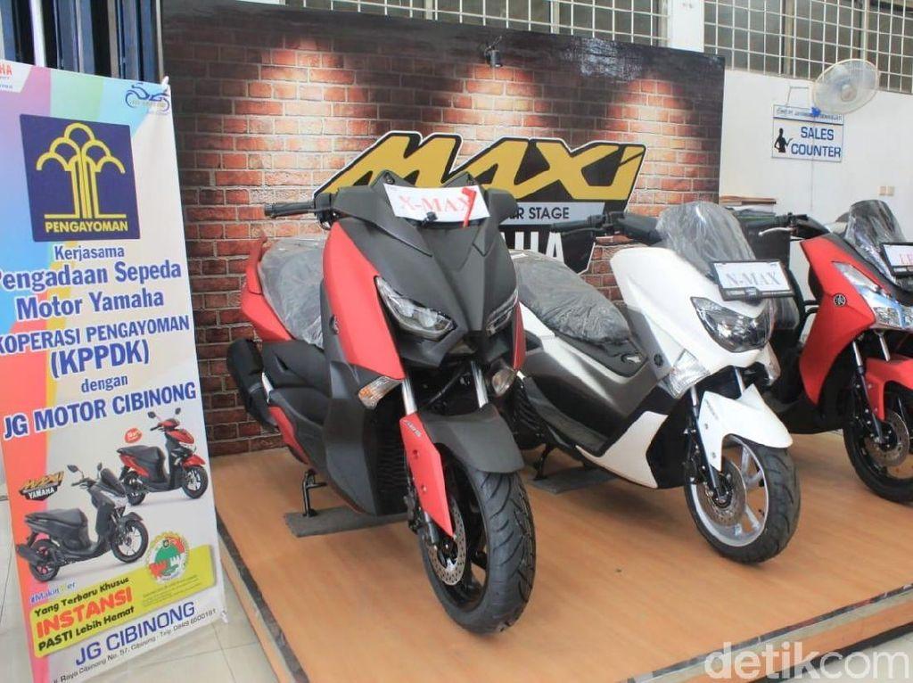 Koperasi Kemenkumham Permudah PNS Beli Motor Yamaha