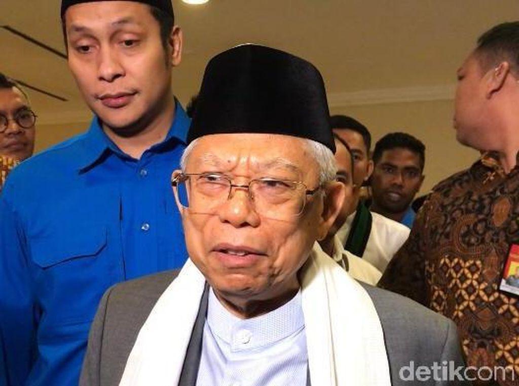 Jelang Pelantikan Wapres, Maruf Amin Tak Ambil Pusing