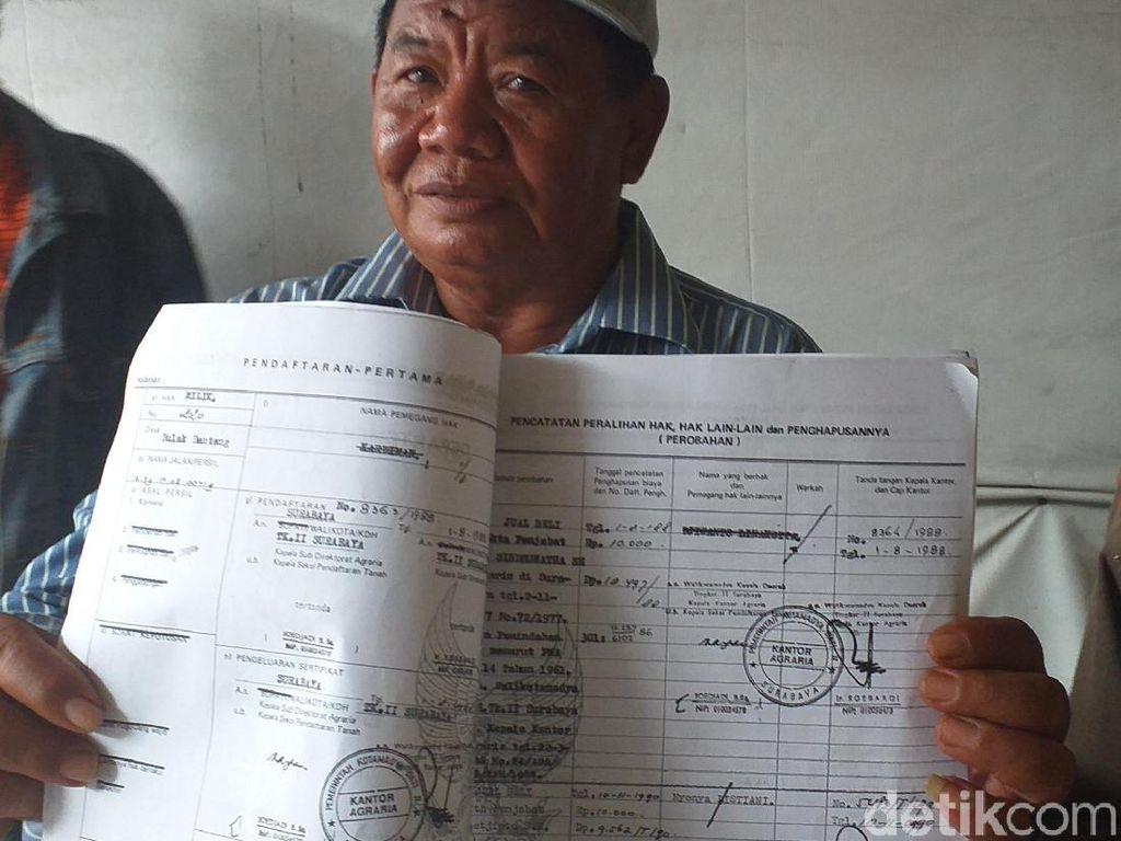 Blokir Jalan Umum di Surabaya, Pemilik Persilakan Pemkot Beli Tanahnya