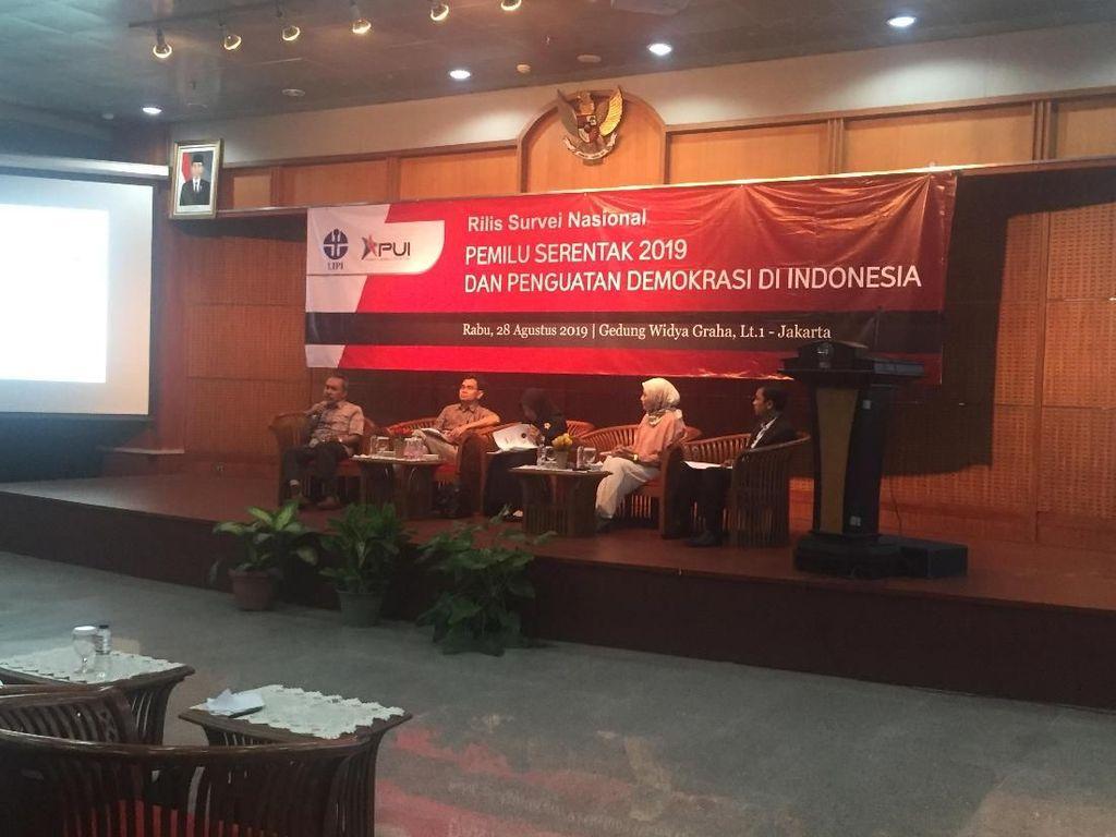 Survei LIPI: 72,3% Warga Tak Setuju Pemilihan Langsung Presiden Dihapus