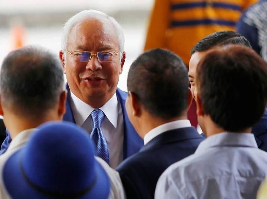 Najib Razak Mulai Diadili Atas 25 Dakwaan Terkait Skandal 1MDB