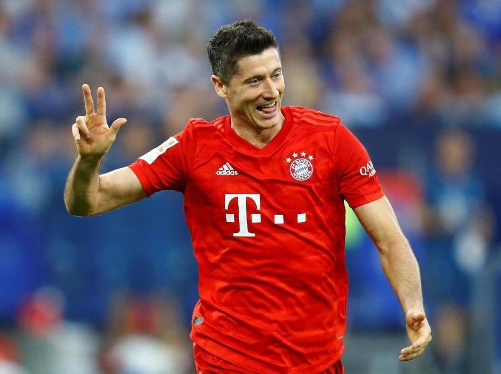 Lewandowski Ingin Awet, Bidik 300 Gol di Liga Jerman