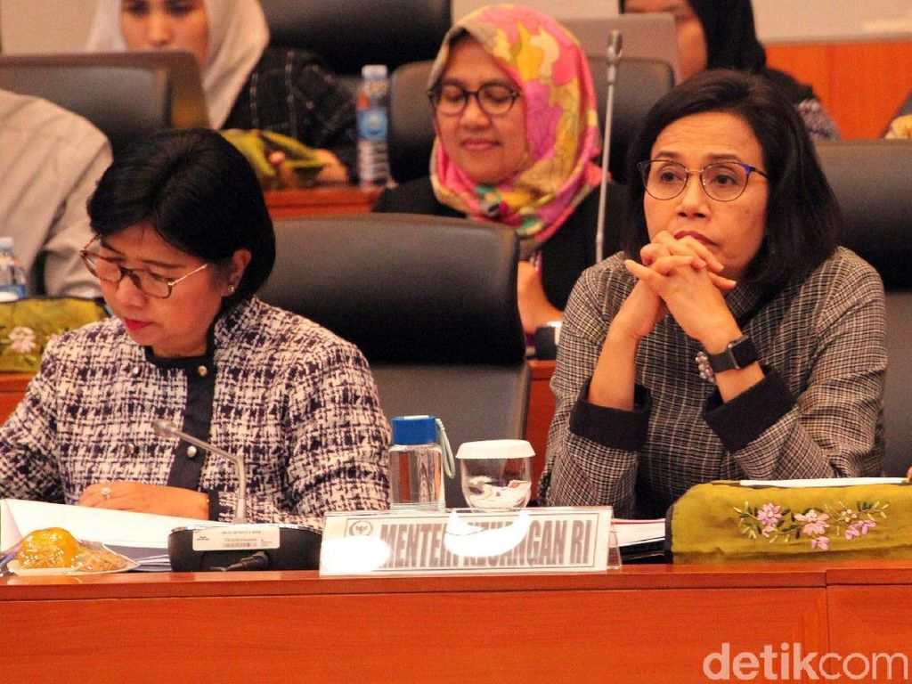 Sri Mulyani dan Komisi XI DPR Rapat Asumsi RAPBN 2020