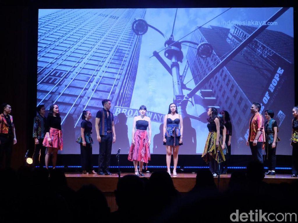 Indonesia Menuju Broadway Tampilkan Aksi Seni Peran Teater Musikal