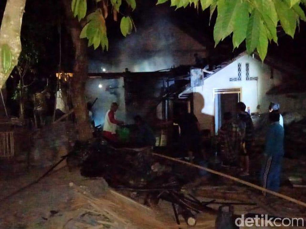 Dikira Padam, Api dari Tempat Sampah Membakar Rumah Warga Wonogiri