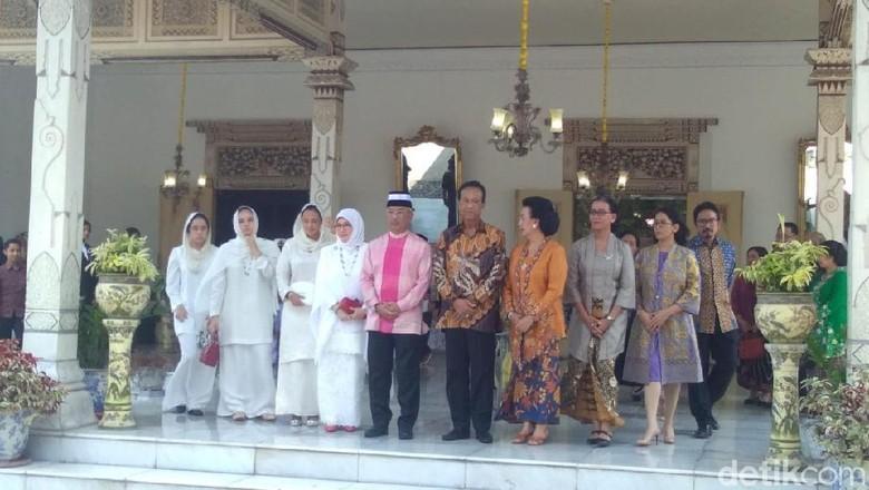 Raja Malaysia dan Sultan Yogya Usman Hadi/detikcom