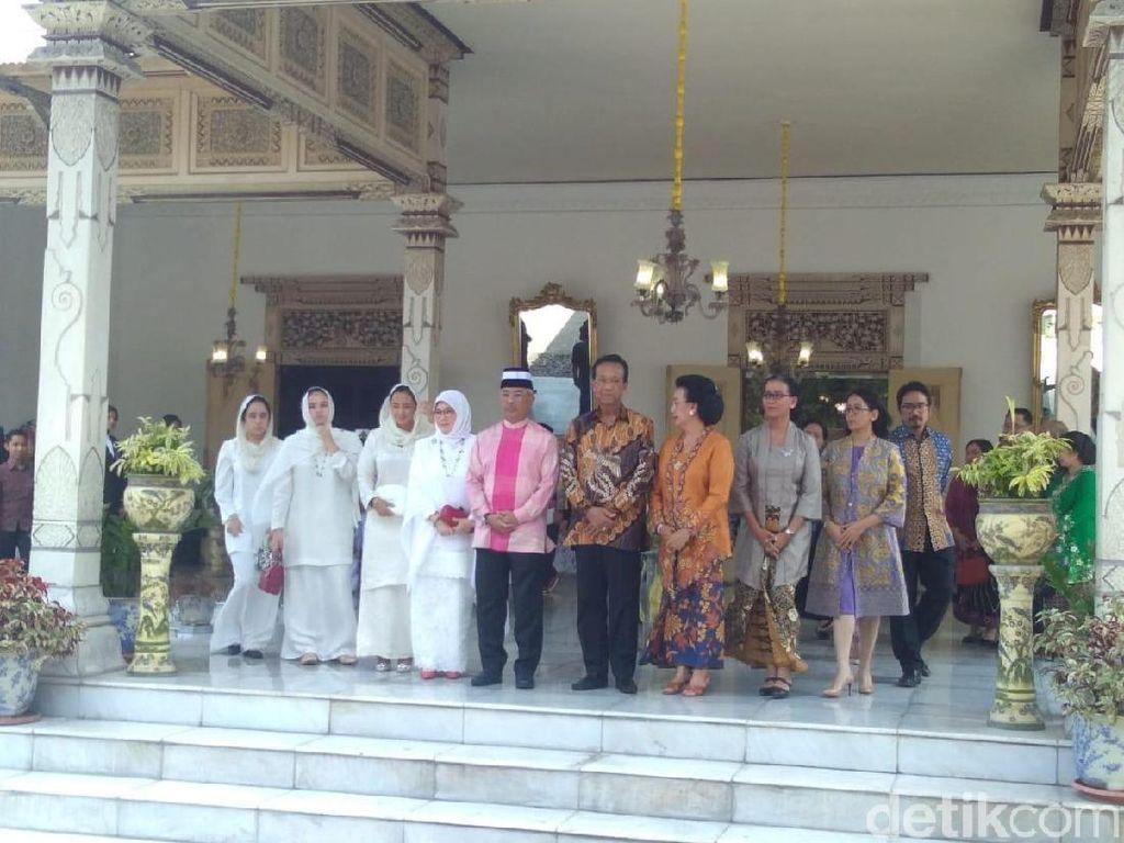 Raja Malaysia Temui Sri Sultan HB X di Keraton Yogyakarta