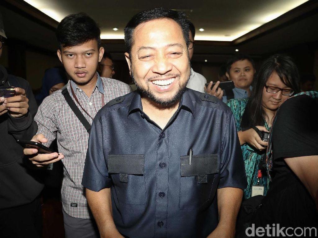 Tawa Setya Novanto di Sidang PK Perdana