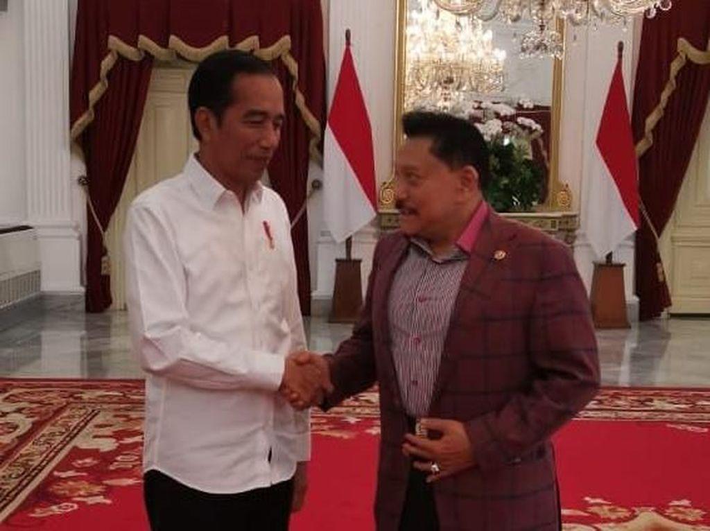 Hendropriyono Temui Jokowi, Bahas Apa?