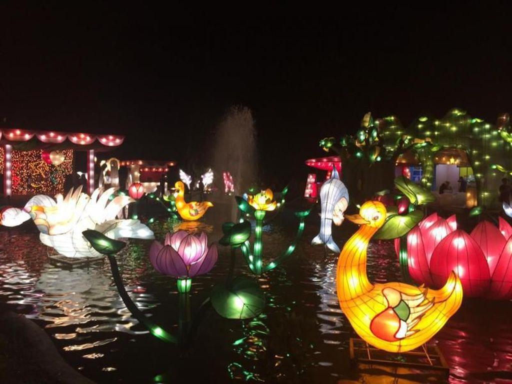 Indahnya Lampion Garden, Bikin Kangen Kota Batu