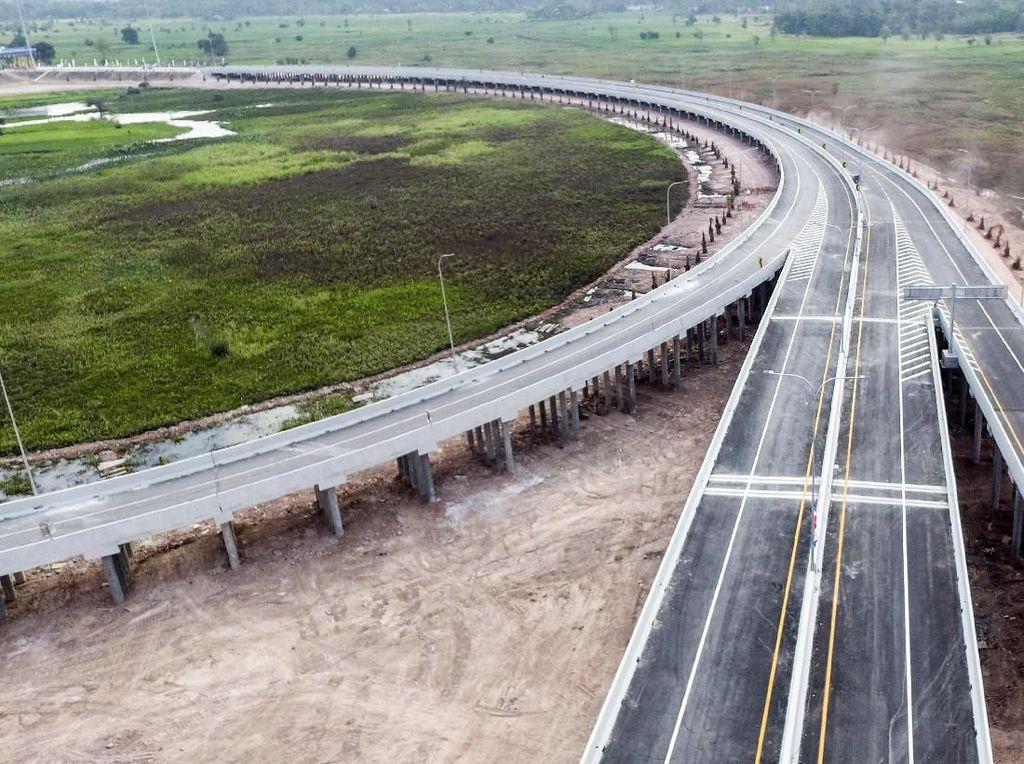 Tol Kayu Agung-Palembang 35 Km Dibuka Gratis Oktober