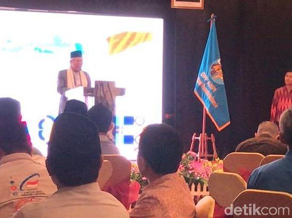 Hadiri Silaturahmi Milenial Lintas Agama, Maruf Amin Ingatkan Keutuhan Bangsa
