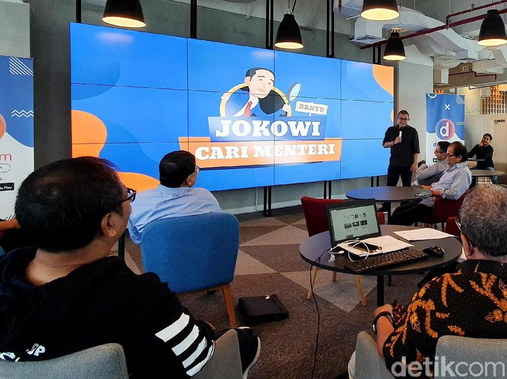 Mengintip Para Pakar Berkumpul Bantu Jokowi Cari Menteri