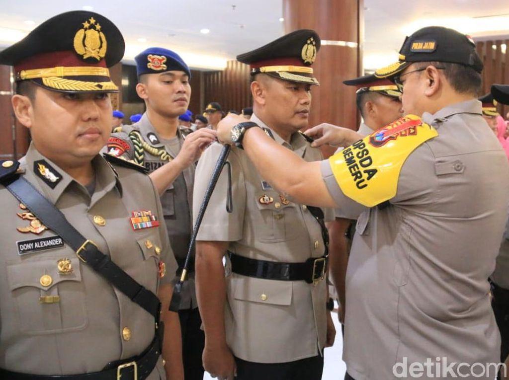 Penyegaran Pejabat Polda Jatim, Dirkrimum hingga Kapolresta Malang Diganti