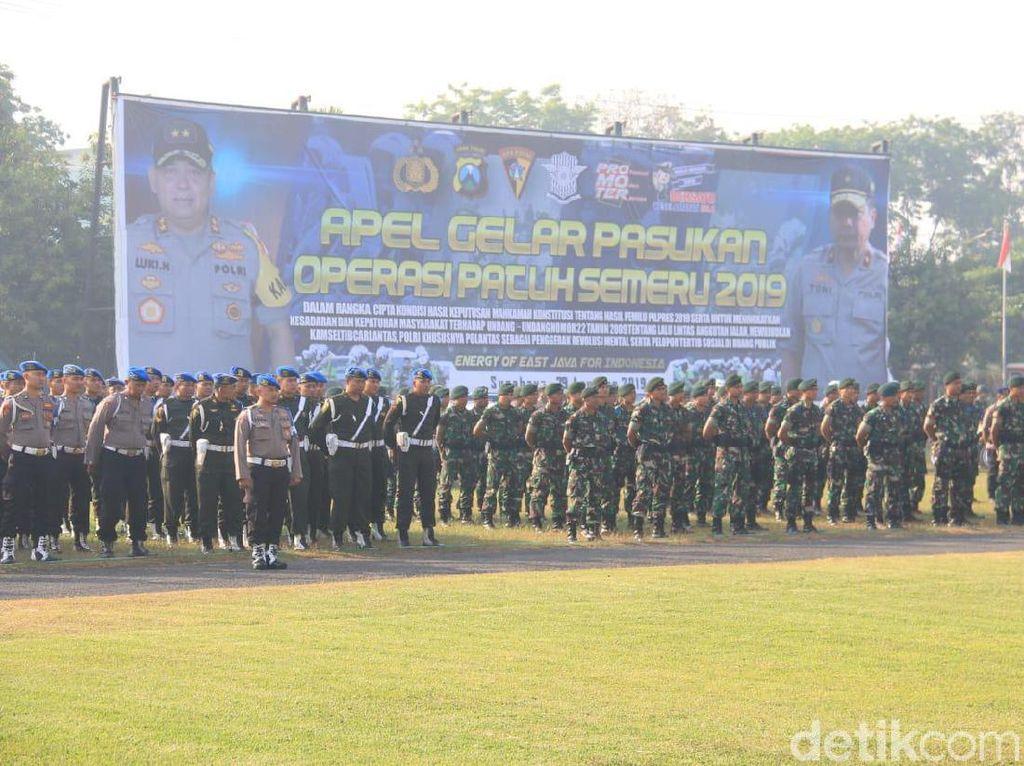1.300 Personel Siap Tindak Pelanggar di Operasi Patuh Semeru